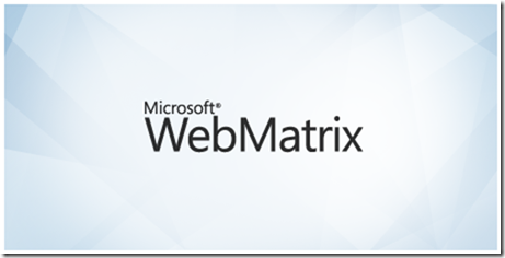 webMatrix_start