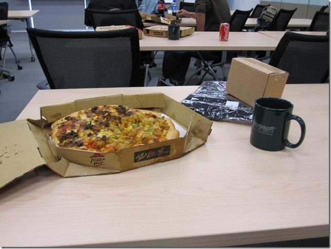 微软午餐-必胜客