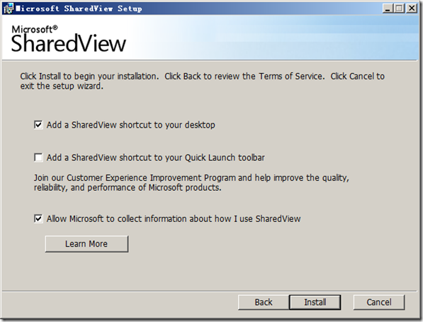 sharedview_setup