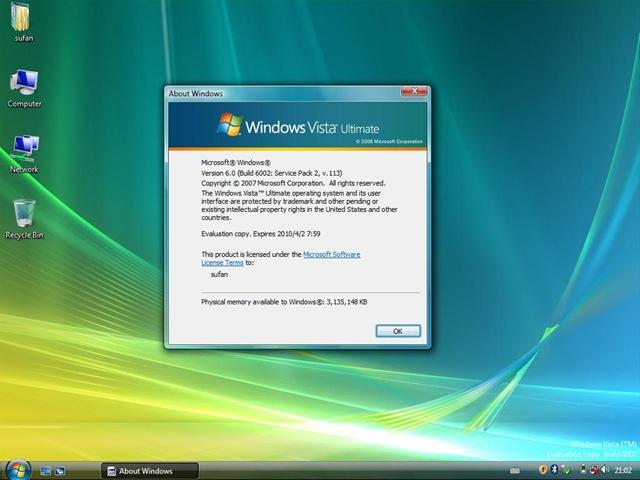 windows vista sp2 beta 首测